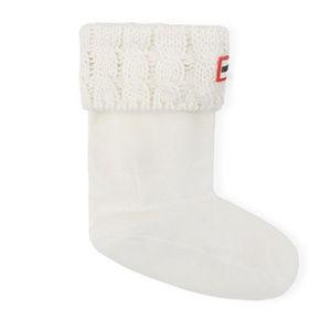 Hunter | Kids Cable Knit Boot Socks sz M 11-13 US